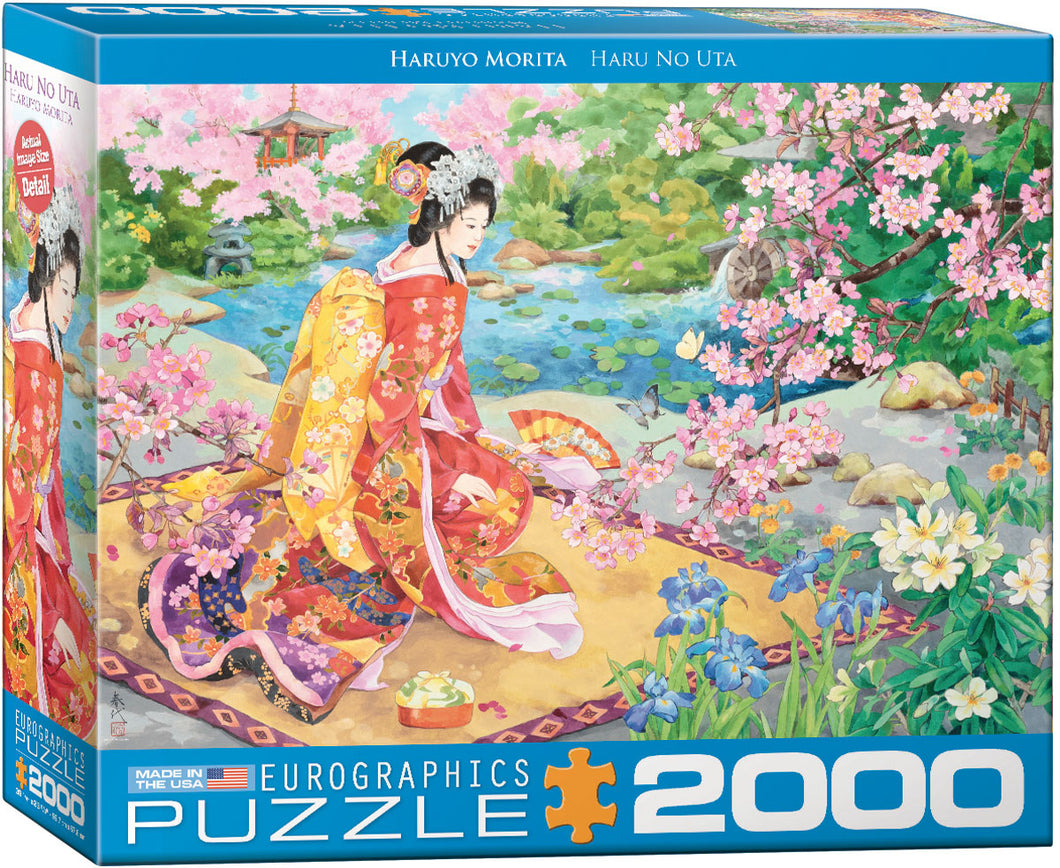 Puzzle - 2000pc (Eurographics) - Haru No Uta