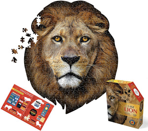 Puzzle - 550 pc (Madd Capp) - I Am Lion