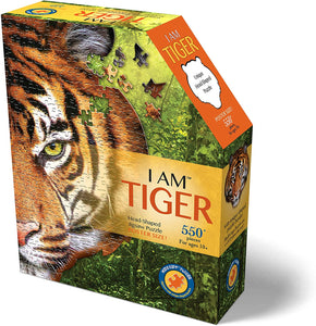 Puzzle - 550 pc (Madd Capp) - I Am Tiger