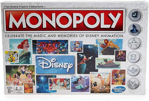 Monopoly: Walt Disney Animation 80th Anniversary Edition