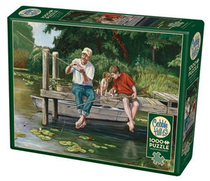 Puzzle - 1000 pc (Cobble Hill) - On the Dock