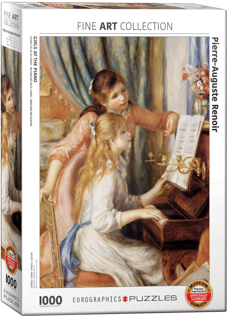 Puzzle - 1000pc (Eurographics) - Girls at the Piano