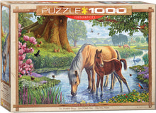 Load image into Gallery viewer, Puzzle - 1000pc (Eurographics) - The Fell Ponies