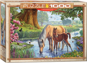 Puzzle - 1000pc (Eurographics) - The Fell Ponies