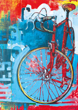 Load image into Gallery viewer, Puzzle - 1000 pc (Heye) - Red Limited Bike Art
