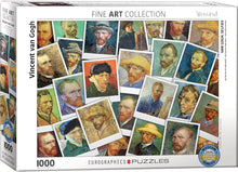 Load image into Gallery viewer, Puzzle - 1000pc (Eurographics) - Van Gogh Selfies