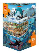 Load image into Gallery viewer, Puzzle - 1500 pc (Heye Triangle Box) - Submarine Fun