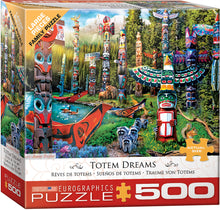 Load image into Gallery viewer, Puzzle - 500pc (Eurographics) - Totem Dreams