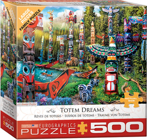 Puzzle - 500pc (Eurographics) - Totem Dreams