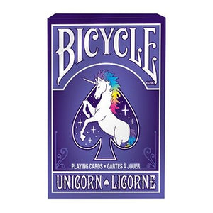 Playing Cards - Unicorn (Bicycle)