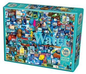 Puzzle - 1000 pc (Cobble Hill) - Water