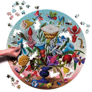 Puzzle - 500 pc (eeBoo) - Crazy Bug Bouquet