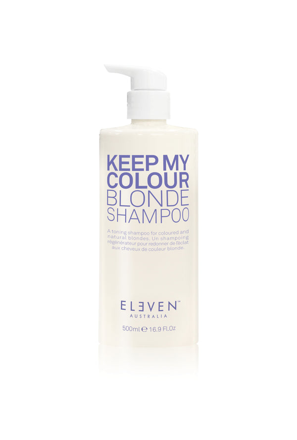 Keep My Colour Blonde Limited Edition BIG SIZE Shampoo + Treatment 500 ml - SAVE DKK 225,-