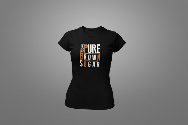 100% Pure Brown Sugar T-Shirt - Hot Lab Tees