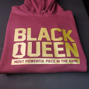 Black Queen Most Powerful Pullover Hoodie