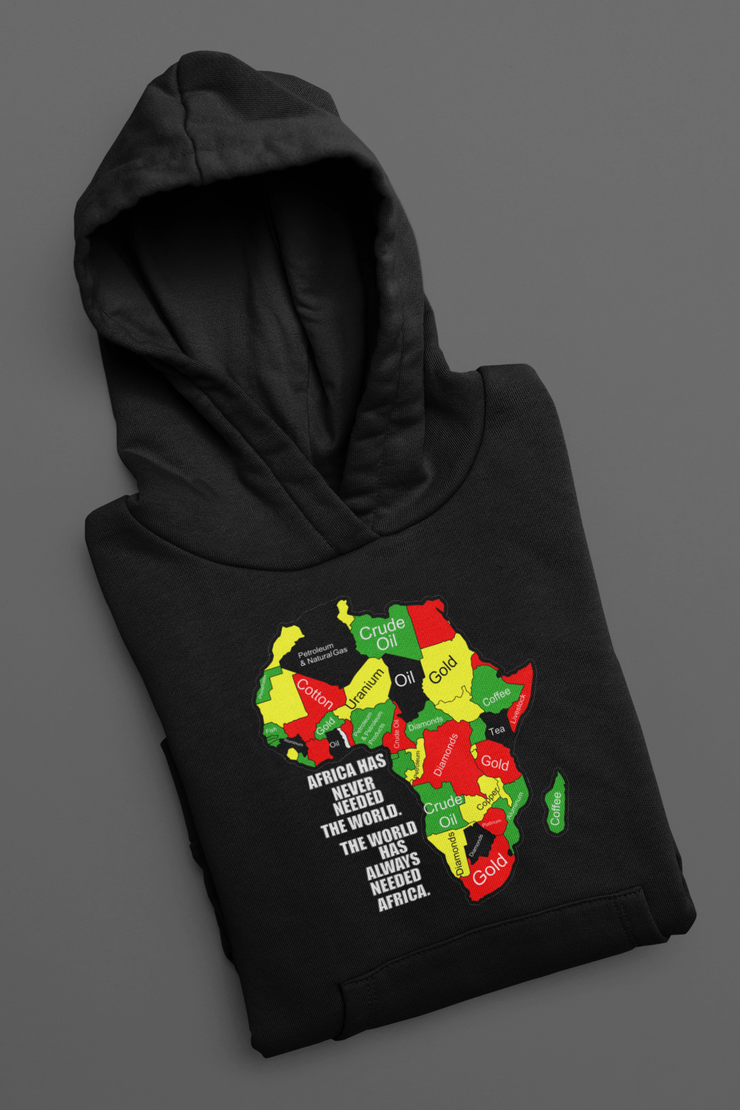 Africa Has Never Needed The World Pullover Hoodie