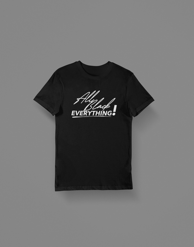All Black Everything T-Shirt - Hot Lab Tees