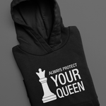 Always Protect Your Queen Pullover Hoodie
