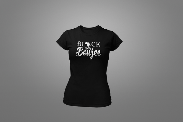Black And Boujee T-Shirt - Hot Lab Tees