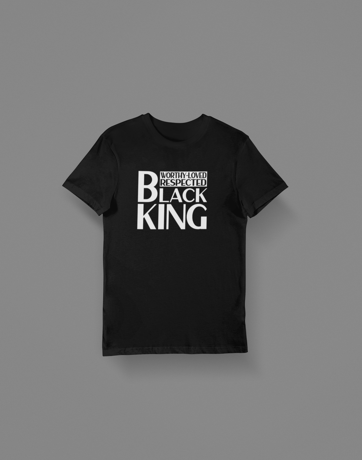 Black King T-Shirt - Hot Lab Tees