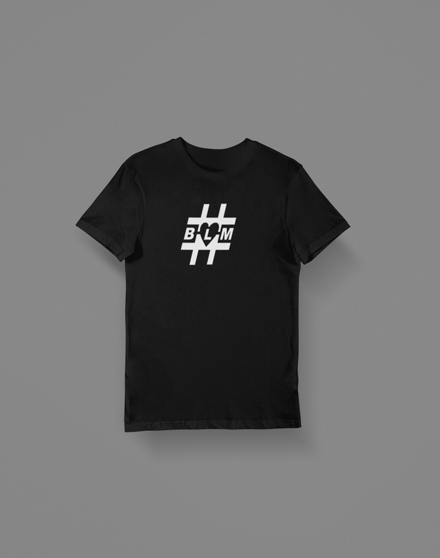 Black Lives Matter Hashtag Men's T-Shirt - Hot Lab Tees
