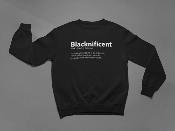 Blacknificent Crew Neck Sweater