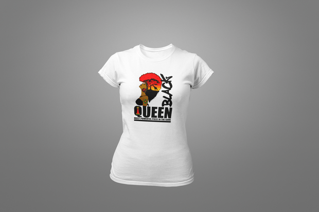 Black Queen Africa T-Shirt - Hot Lab Tees