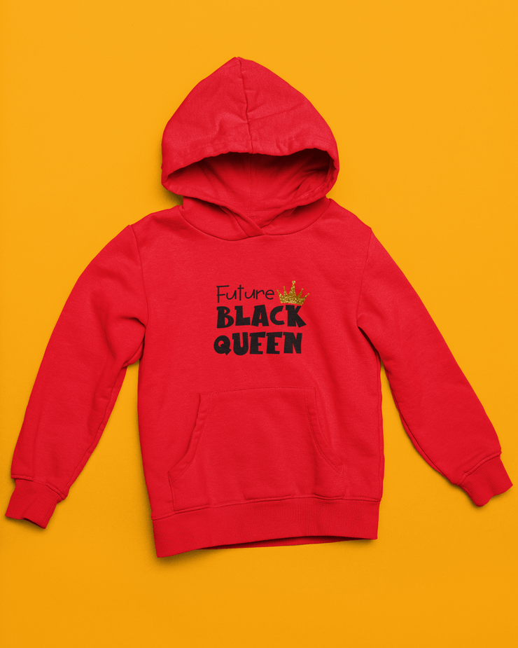 Future Black Queen Kids' Pullover Hoodie