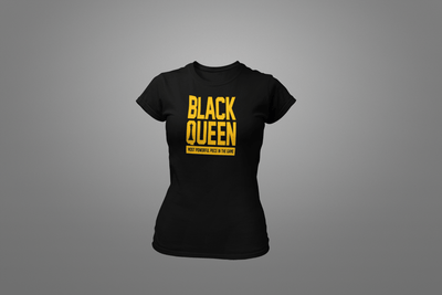 Black Queen Most Powerful T-Shirt - Hot Lab Tees