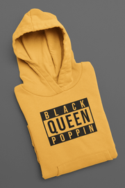 Black Queen Popping Pullover Hoodie