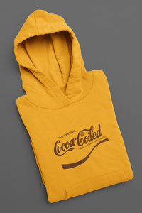 Cocoa Coiled Pullover Hoodie
