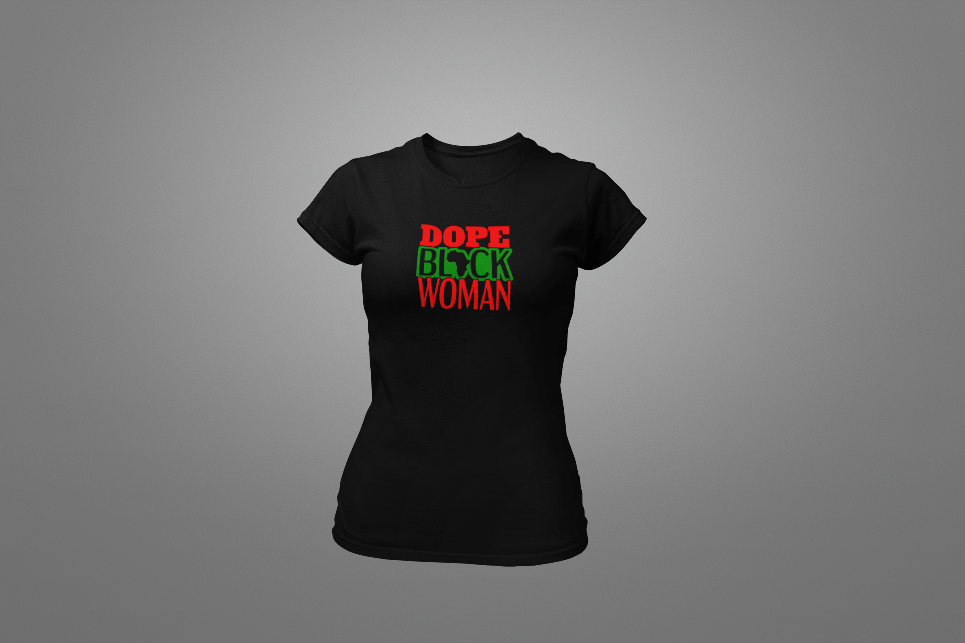 Dope Black Woman T-Shirt - Hot Lab Tees