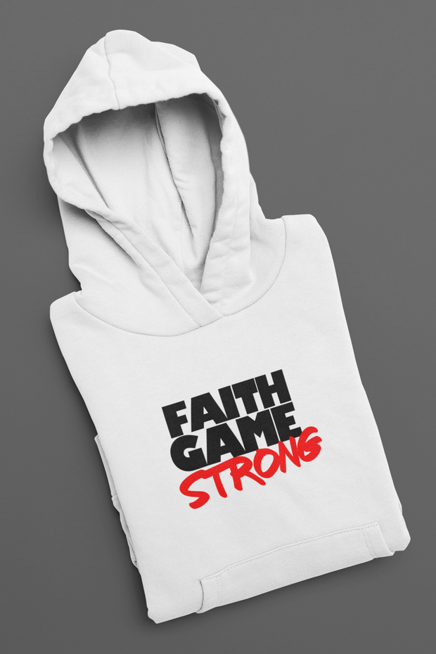 Faith Game Strong Pullover Hoodie