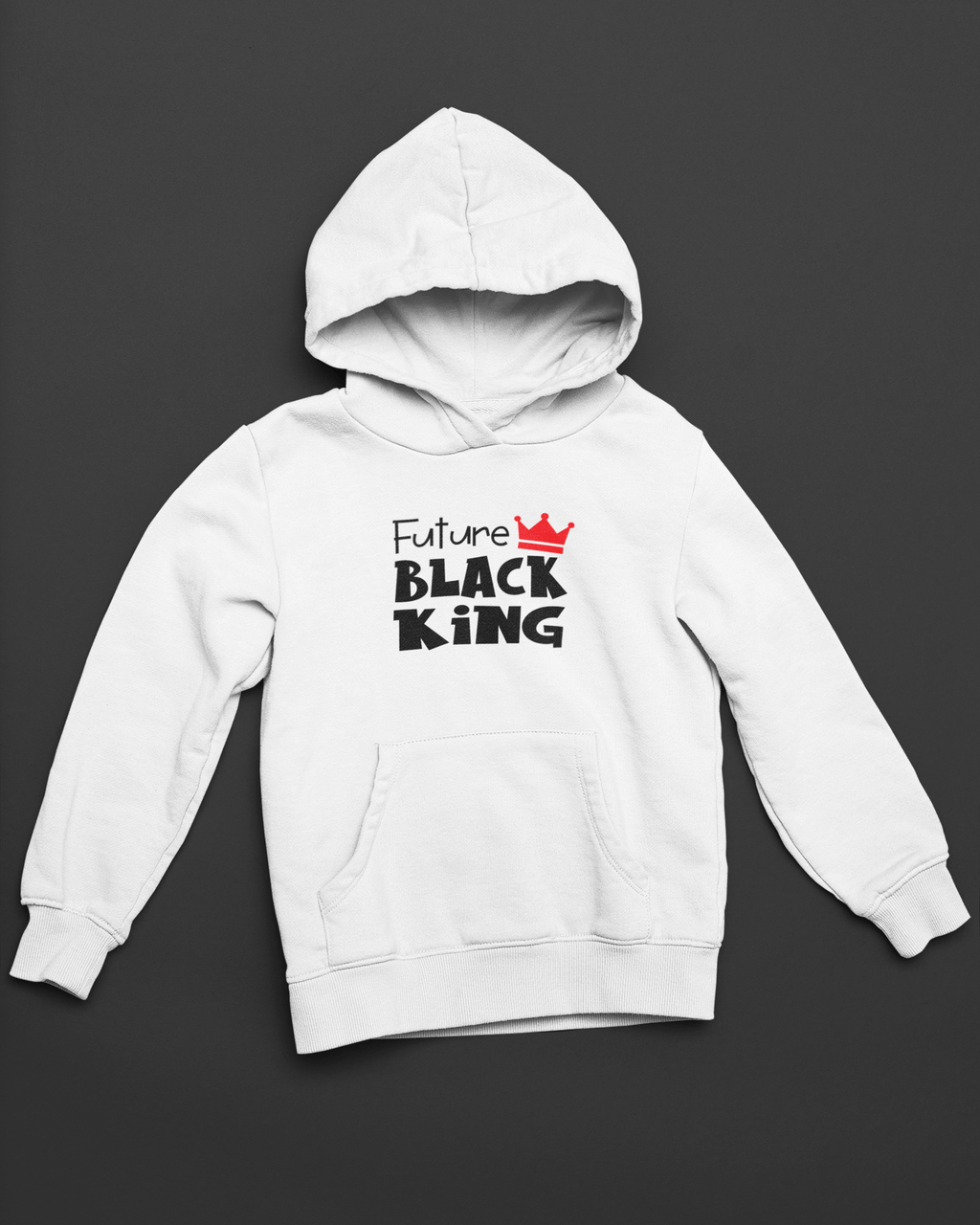 Future Black King Kids' Pullover Hoodie
