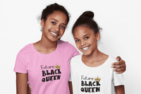 Future Black Queen Kid's/Youth T-Shirt