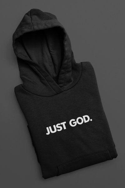 Just God. Pullover Hoodie
