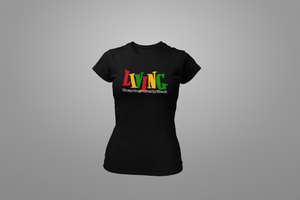Living Unapologetically Black T-Shirt - Hot Lab Tees