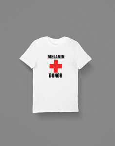 Melanin + Donor Men's T-Shirt - Hot Lab Tees