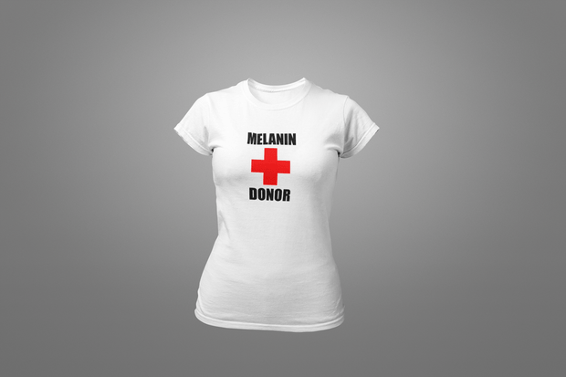 Melanin + Donor T-Shirt - Hot Lab Tees