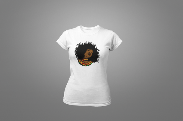 Nubian Queen T-Shirt - Hot Lab Tees