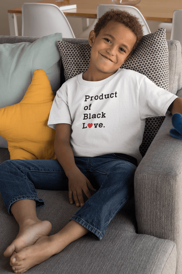 Product of Black Love Kid's T-Shirt - Hot Lab Tees
