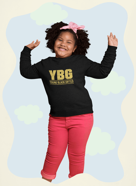 YBG - Young Black and Gifted Kids' Sweatshirt