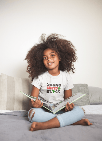 Young Gifted & Black Kids' T-Shirt - Hot Lab Tees
