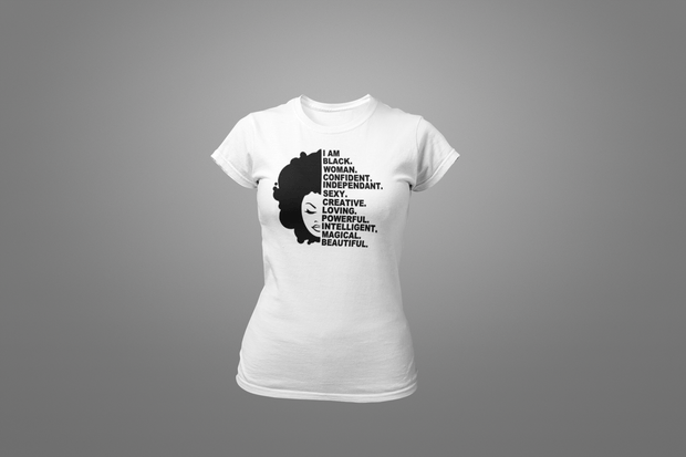 Black Woman T-Shirt - Hot Lab Tees