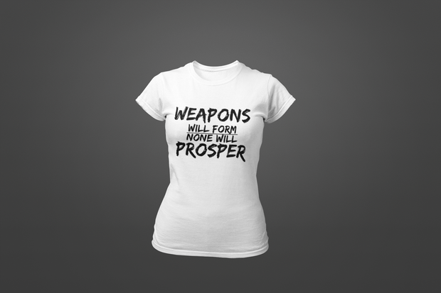 Weapons Will Form T-shirt - Hot Lab Tees