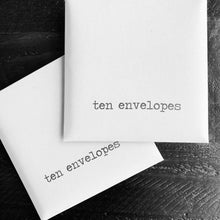 Load image into Gallery viewer, Envelopes {set of 10}