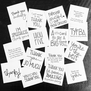 the {thankful} pack