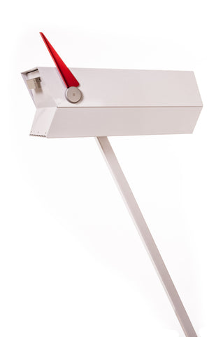 Mid-Century Modern Mailbox | One Color