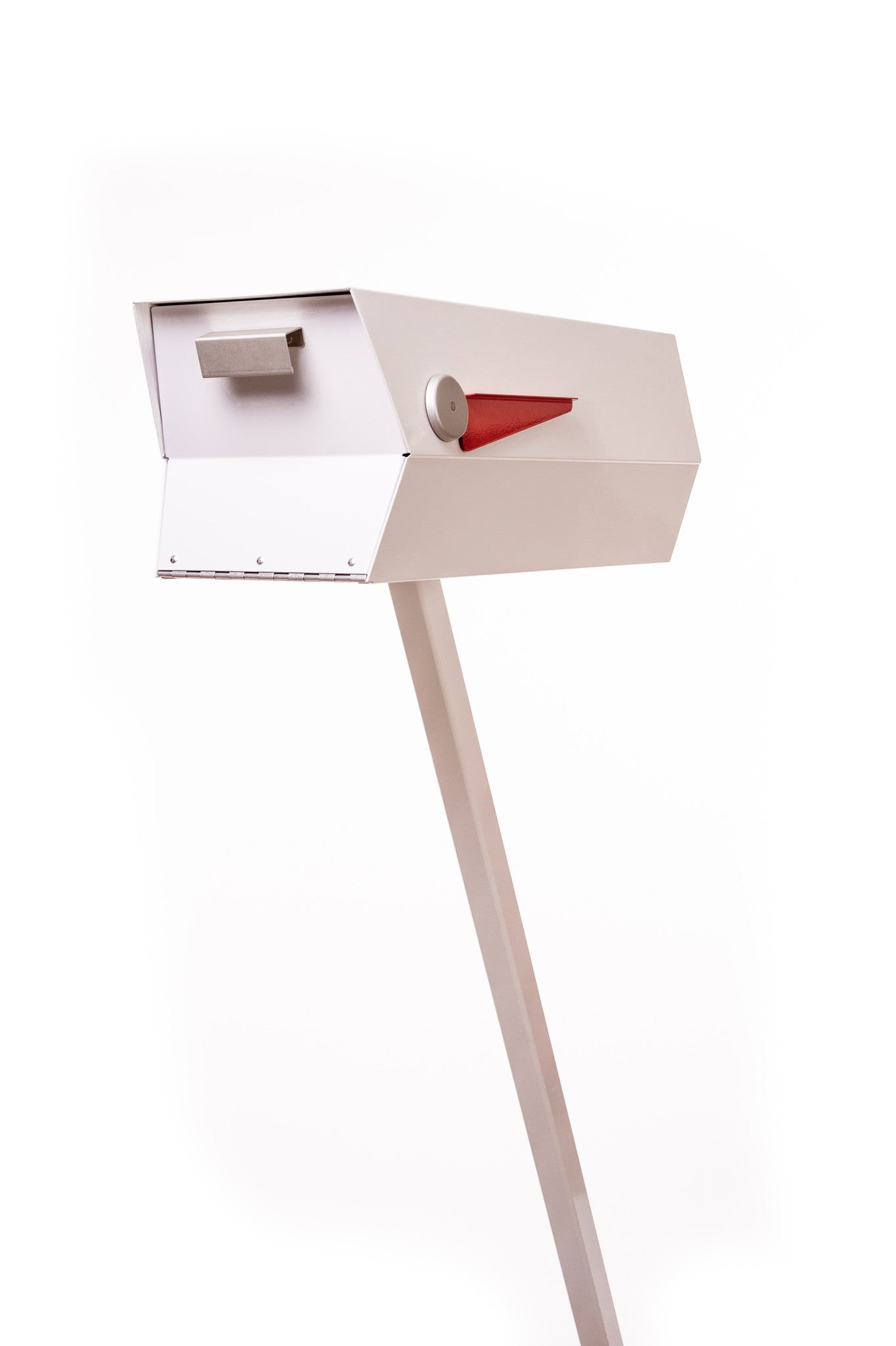 Midcentury Modern Mailbox  One Color