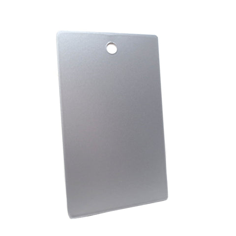 Anodized Aluminum Effect (Silver)
